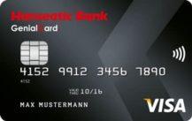 Kostenlose GenialCard Kreditkarte