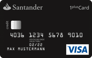 Kostenlose 1Plus Visa-Card